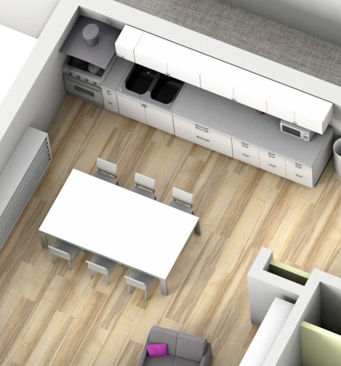 Private room: Kitchen / Storeroom